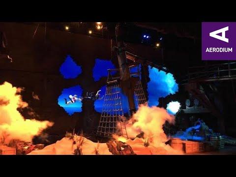 Disney Resort China Wind Tunnel Show | Aerodium
