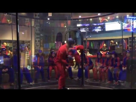 Flying at iFLY Chicago Lincoln Park