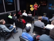 Classroom at Vegas Indoor Skydiving