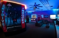 Gear & Waiting Area at Vegas Indoor Skydiving