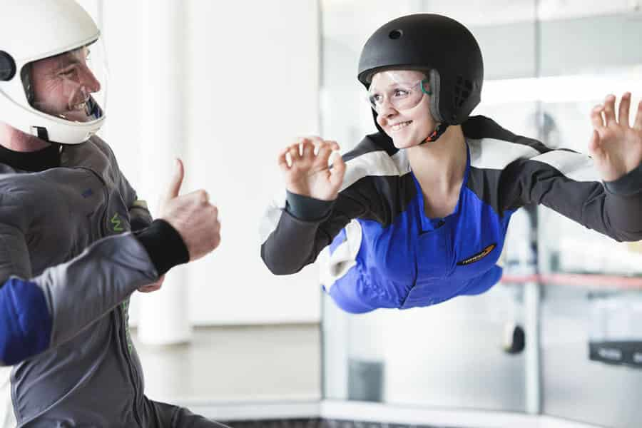 Girl and Instructor in Vienna
