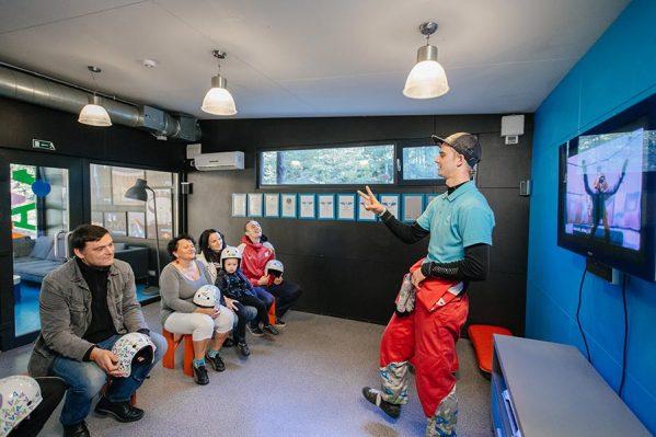 AERODIUM Sigulda Classroom