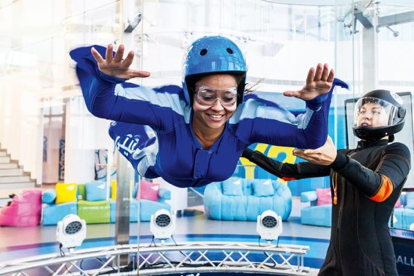 Gravity Indoor Skydiving First Timer