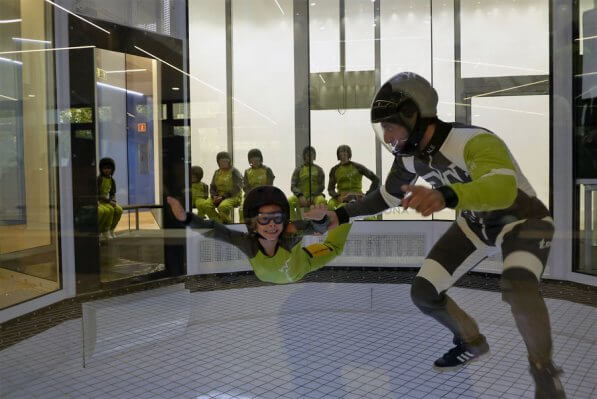Young Flyer and Instructor in Madrid