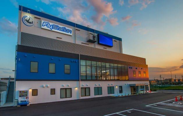 Flystation Japan at Sunset