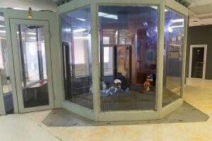 The flight chamber at Freezone I