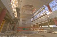 Flystation Munchen Interior Progress