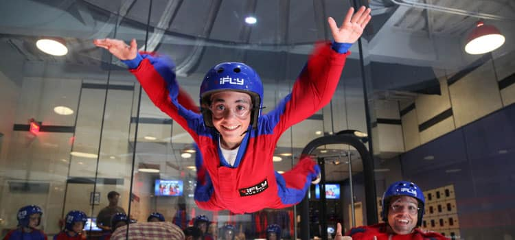 Who Can Go Indoor Skydiving