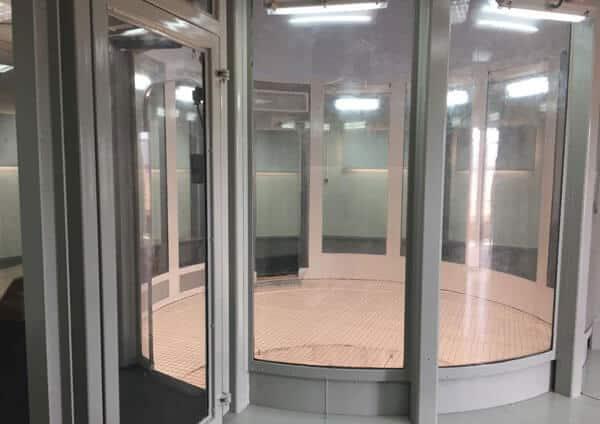 Flight chamber at SkyVenture Alcantarilla.