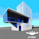 A rendering showing the future U-Fly dual wind tunnel location.