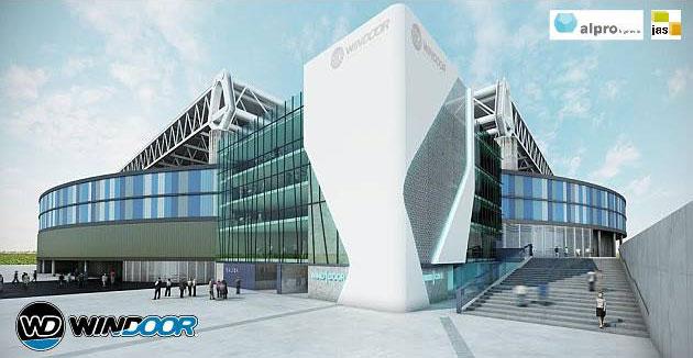 A rendering showing the future look of Windoor Barcelona.