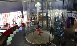 View From Above at iFLY Lyon