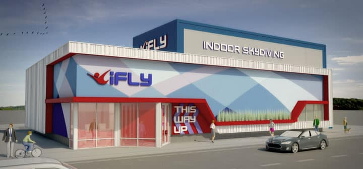Rendering of the new iFLY 12 foot model