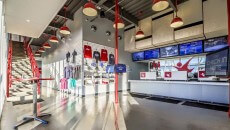 iFLY Portland Gear Counter and Check-in