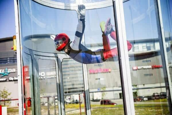 Proflyer Enjoying Lithuania's first wind tunnel