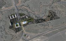 Airforce Academy Visitor Center Site Plan